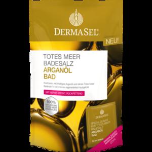 DERMASEL Totes Meer Badesalz+Arganöl