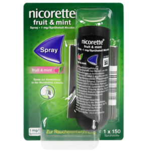 NICORETTE Fruit & Mint Spray 1 mg/Sprühstoß