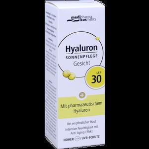 HYALURON SONNENPFLEGE Gesicht Creme LSF 30