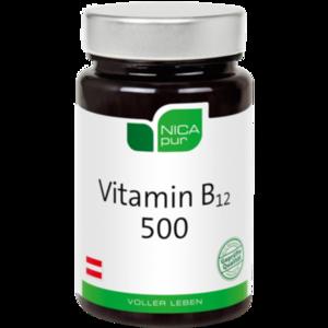 NICAPUR Vitamin B12 500 Kapseln