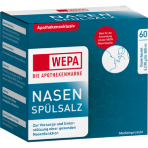WEPA Nasenspülsalz
