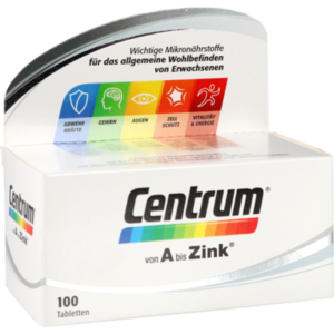 CENTRUM A-Zink Tabletten