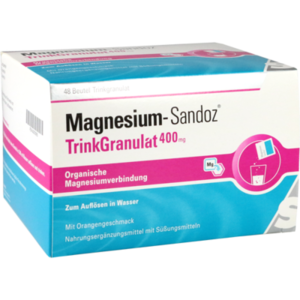 MAGNESIUM SANDOZ Trinkgranulat 400 mg Beutel