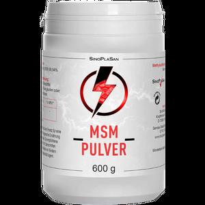 MSM PULVER Pur 99,9% Methylsulfonylmethan