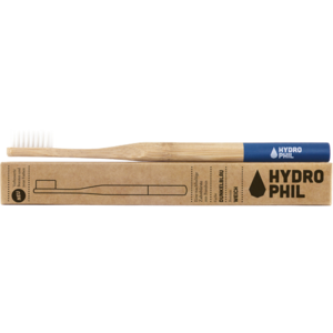 NACHHALTIGE Zahnbürste Bambus extra weich blau