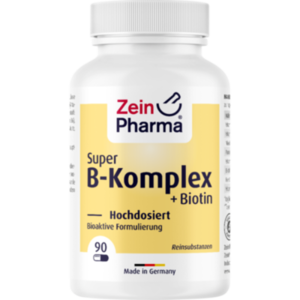 SUPER B-KOMPLEX+Biotin ZeinPharma Kapseln