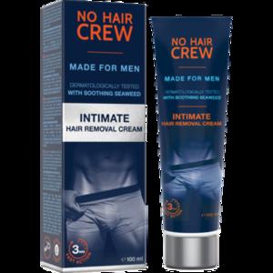NO HAIR CREW Enthaarungscreme f.Männer Intimber.