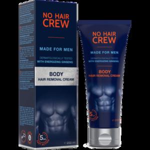 NO HAIR CREW Enthaarungscreme f.Männer Körper