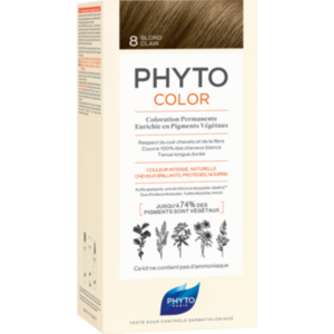 PHYTOCOLOR 8 helles blond ohne Ammoniak