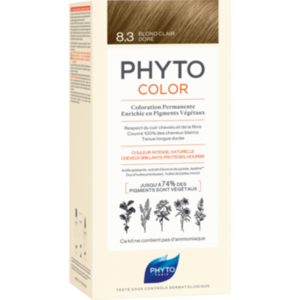 PHYTOCOLOR 8.3 helles goldblond ohne Ammoniak