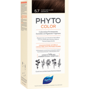 PHYTOCOLOR 5.7 helles kastanienbraun ohne Ammoniak