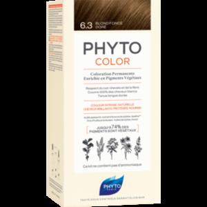PHYTOCOLOR 6.3 dunkles Goldbraun ohne Ammoniak