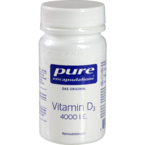 PURE ENCAPSULATIONS Vitamin D3 4000 I.E. Kapseln