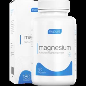 NUPURE magnesium mit Magnesiumcitrat Kapseln