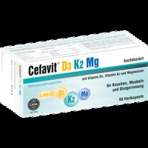 CEFAVIT D3 K2 Mg 4.000 I.E. Hartkapseln