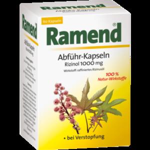 RAMEND Abführ-Kapseln Rizinol 1000 mg Weichkapseln