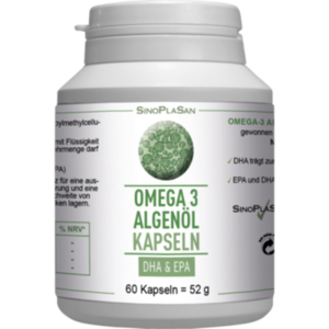 OMEGA-3 Algenöl DHA+EPA Kapseln