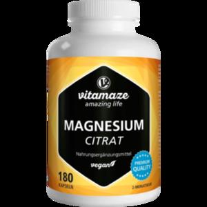 MAGNESIUMCITRAT 360 mg vegan Kapseln