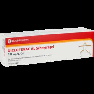 Diclofenac AL 10mg/g Gel