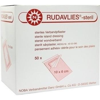 RUDAVLIES-steril Verbandpflaster 6x10 cm