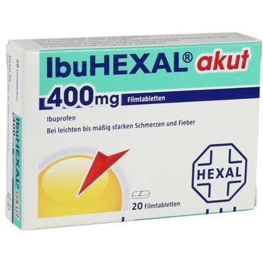 IbuHEXAL® akut 400 mg, Filmtbl.