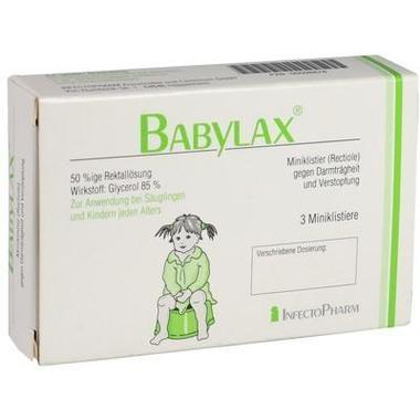 Babylax® 50%ige Rektallösung