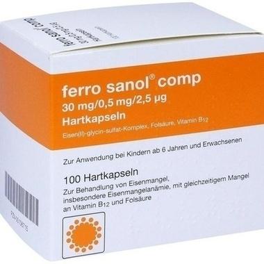 ferro sanol® comp 30mg/0,5mg/2,5µg Hartkapseln