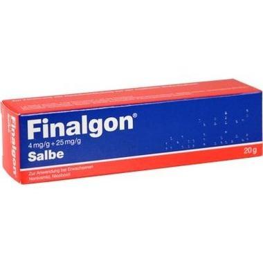 Finalgon 4mg/g + 25mg/g Salbe