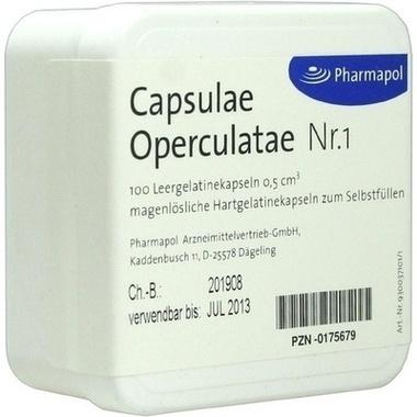 Capsulae Operculatae 0,5 Nr. 1