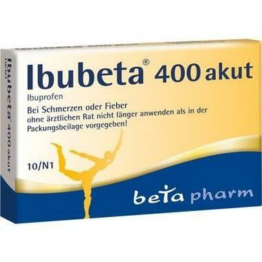 Ibubeta 400 akut 400 mg, Filmtabletten
