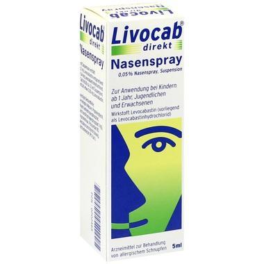 Livocab® direkt Nasenspray 0,05% Nasenspray, Suspension