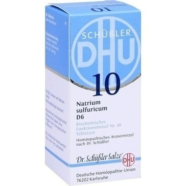 Biochemie 10 Natrium sulfuricum D6 DHU Tbl.