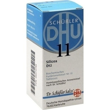Biochemie 11 Silicea D12 DHU Tbl.