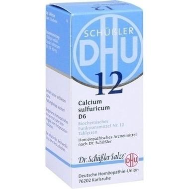 Biochemie 12 Calcium sulfuricum D6 DHU Tbl.