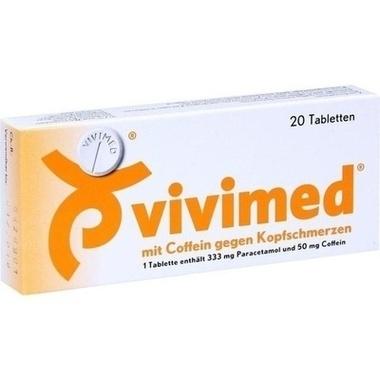 Vivimed® mit Coffein gegen Kopfschmerzen, Tbl.