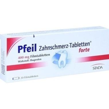Pfeil Zahnschmerz-Tabletten® forte 400mg Filmtabletten