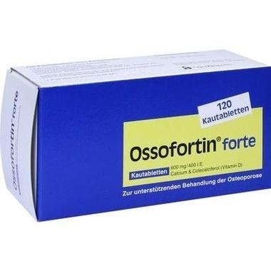 Ossofortin® forte, 600 mg/400 I.E. Kautabletten