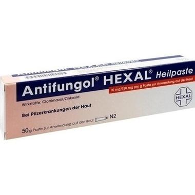 Antifungol® HEXAL® Heilpaste, 10 mg/150 mg pro g Paste zur. Anw. auf d. Haut