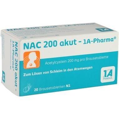 NAC 200 akut - 1A-Pharma®, Brausetbl.