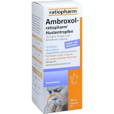 Ambroxol-ratiopharm® Hustentropfen