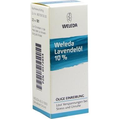 Lavendelöl 10% Weleda