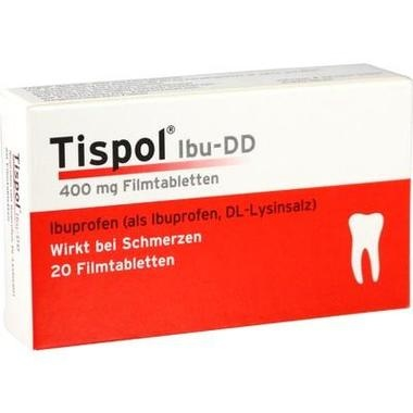 Tispol® IBU-DD, 400 mg Filmtabletten