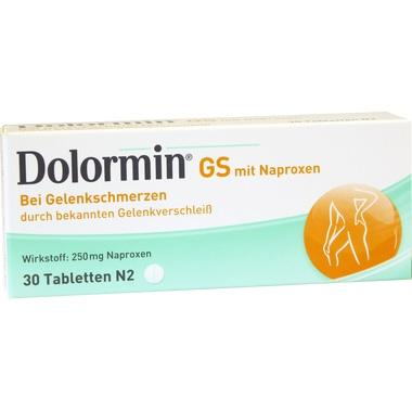 Dolormin® GS mit Naproxen, 250 mg Tabletten