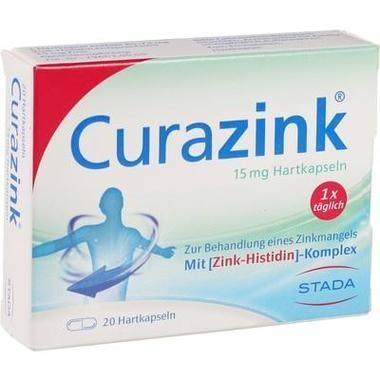 Curazink® 15 mg Hartkapseln