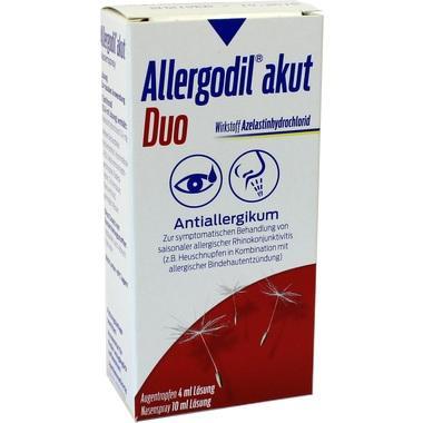 Allergodil® akut Duo Kombipack.