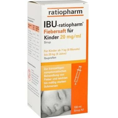 IBU-ratiopharm® 2% Fiebersaft für Kinder, 20 mg/ ml Sirup