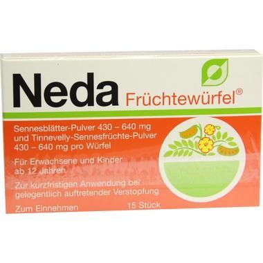 Neda® Früchtewürfel