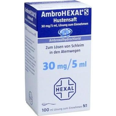 AmbroHEXAL® S Hustensaft 30 mg/5 ml, Lsg. zum Einnehmen