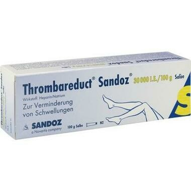 Thrombareduct® Sandoz® 30 000 I.E./100g Salbe