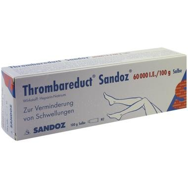 Thrombareduct® Sandoz® 60 000 I.E./100g Salbe